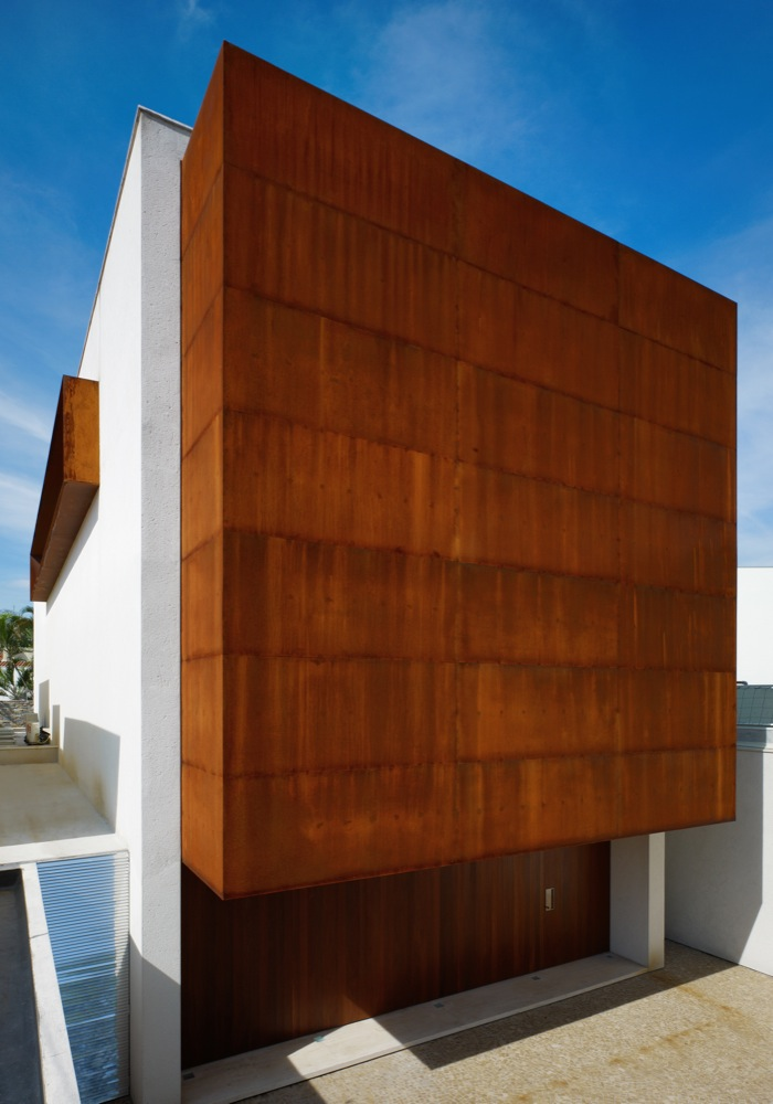 Casa corten studio mk27 marcio kogan archdaily brasil - Kleur idee corridor ...
