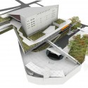 Imagem do Concurso - vista aérea sul