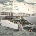 Imagem do Concurso - nova concha acústica e passarela
