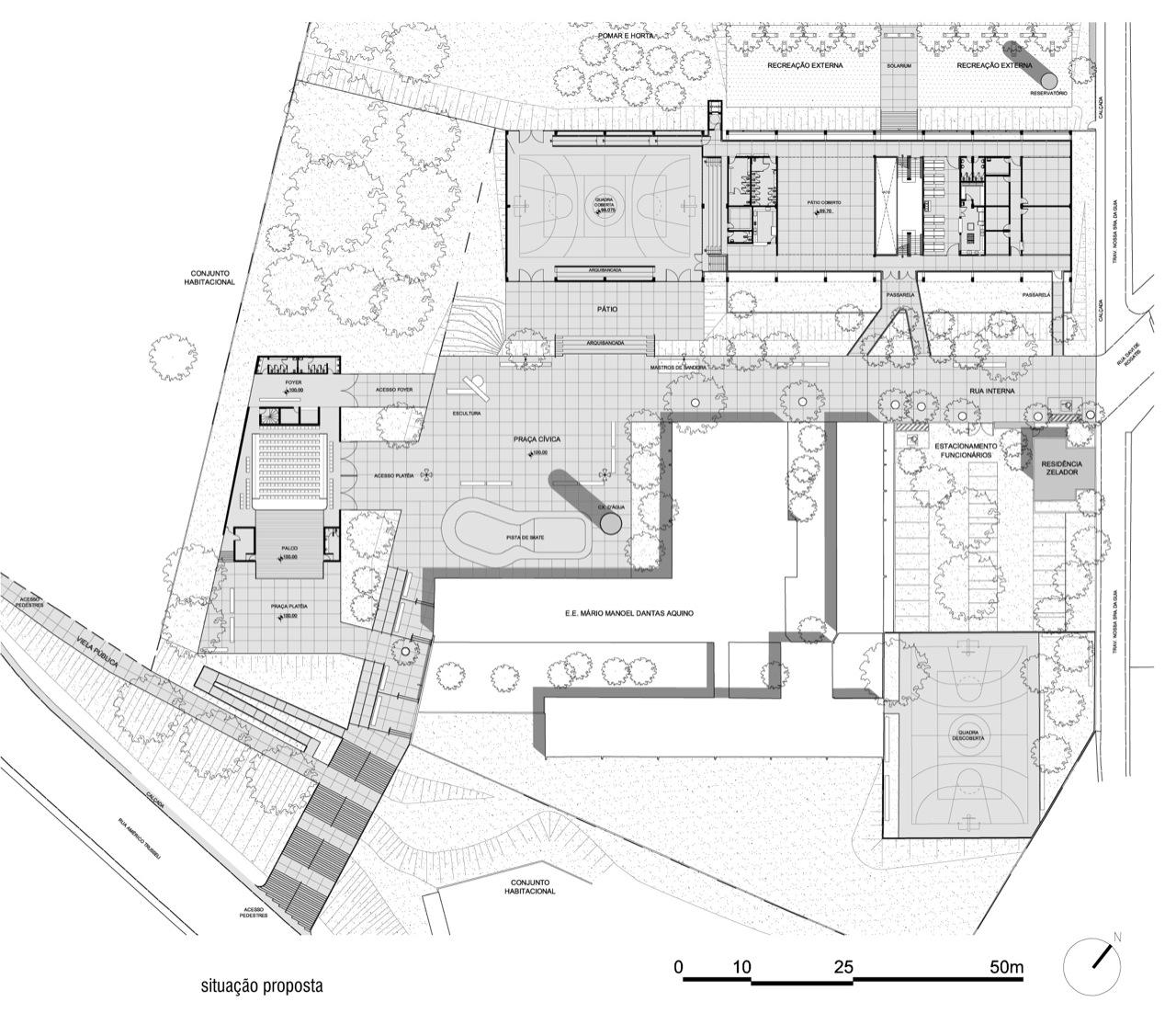 Galeria De Fde Escola Parque Dourado V Apiac S