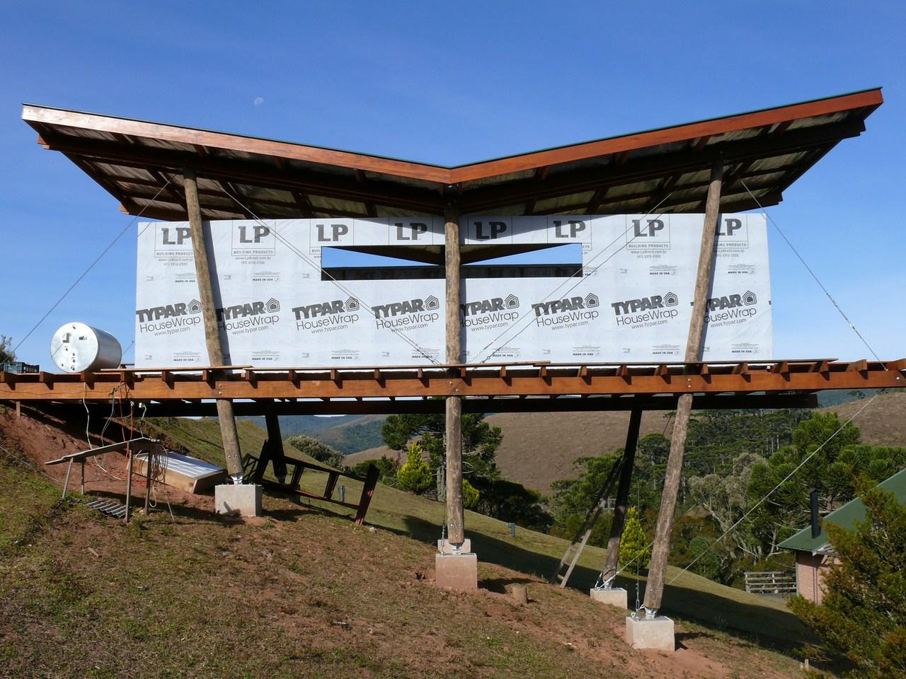 #1D62AE Casa Pinus / André Eisenlohr ArchDaily Brasil 470 Janelas Duplas Isolamento