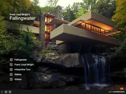 Casa da cascata tag archdaily brasil for Frank lloyd wright casa della prateria
