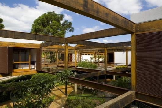 Casa Grelha Fgmf Archdaily Brasil