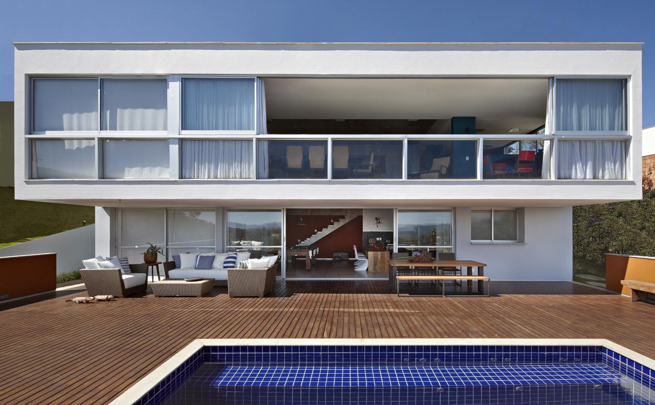 Galeria de casa no lago david guerra 5 - Arquitecto de brasilia ...
