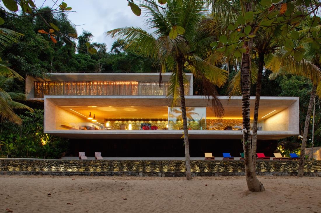 Casa Paraty / Studio MK27 – Marcio Kogan, © Nelson Kon