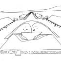 Perspectiva original da Passarela de Oscar Niemeyer