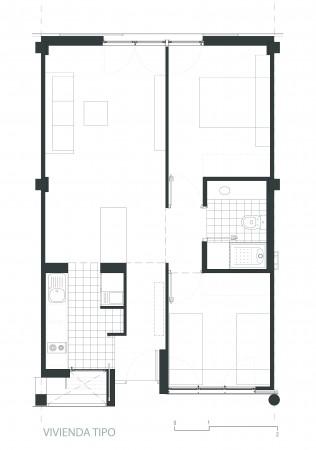 98 habita es vpo oam oficina arquitectura m laga for Oficinas caixa malaga