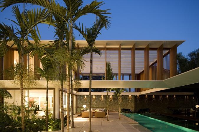 casa jh bernardes jacobsen arquitetura archdaily brasil