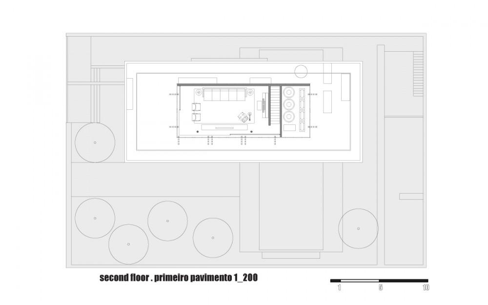 Galeria de casa 6 studio mk27 marcio kogan 44 for Marcio kogan plans