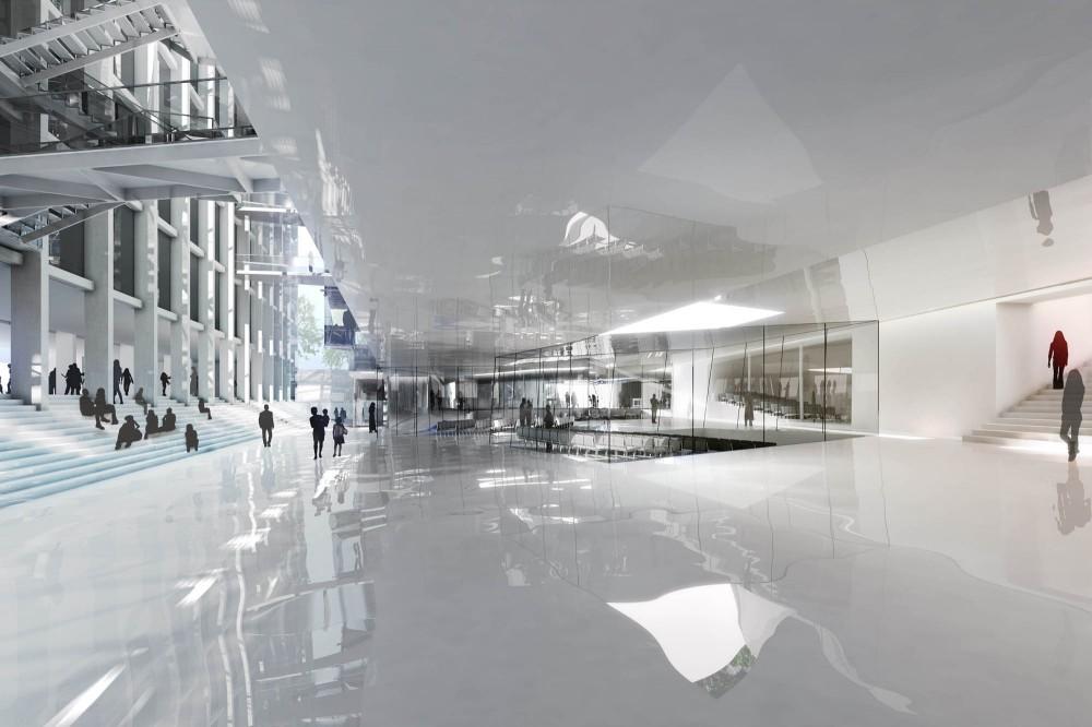 Galeria De Ampliacao Da Universidade De Artes Em Viena