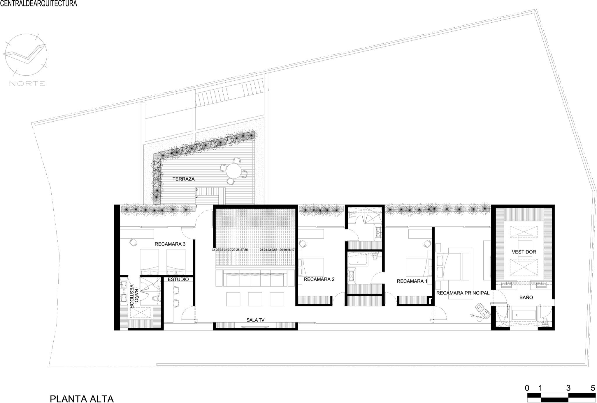 Galeria de casa la punta central de arquitectura 20 for Plan de arquitectura