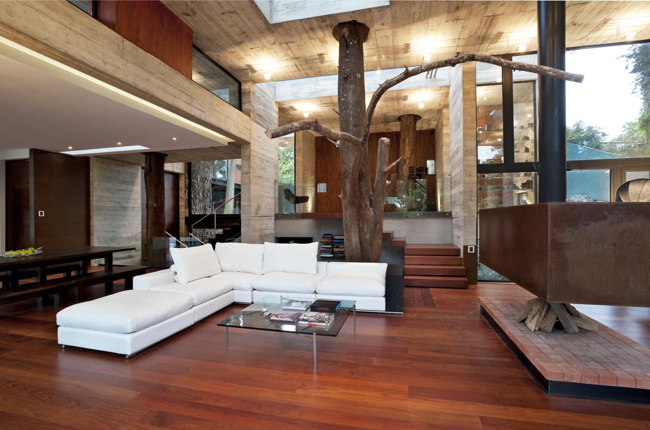 Современный интерьер дома внутри фото