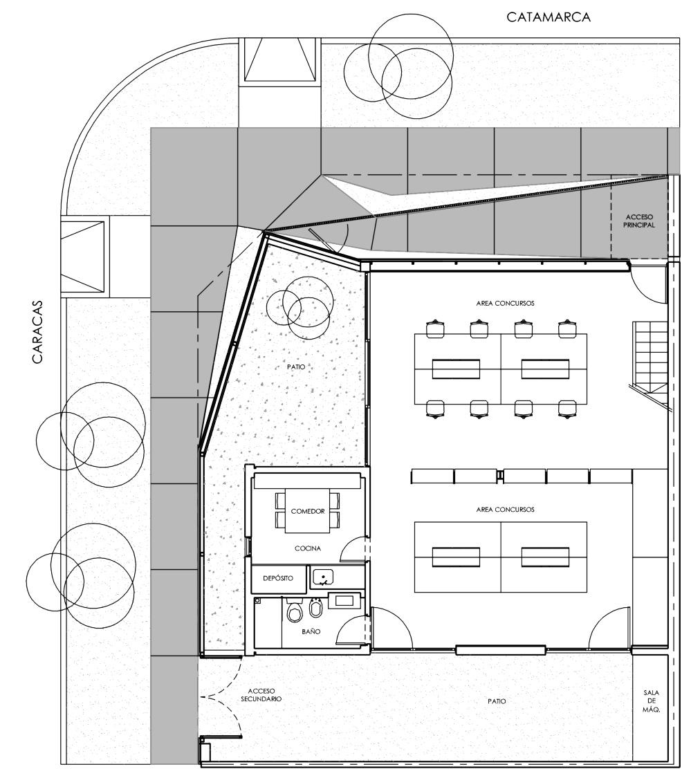 Galeria de Escritório de Arquitetura em Martinez / Alric Galindez ... Architecture