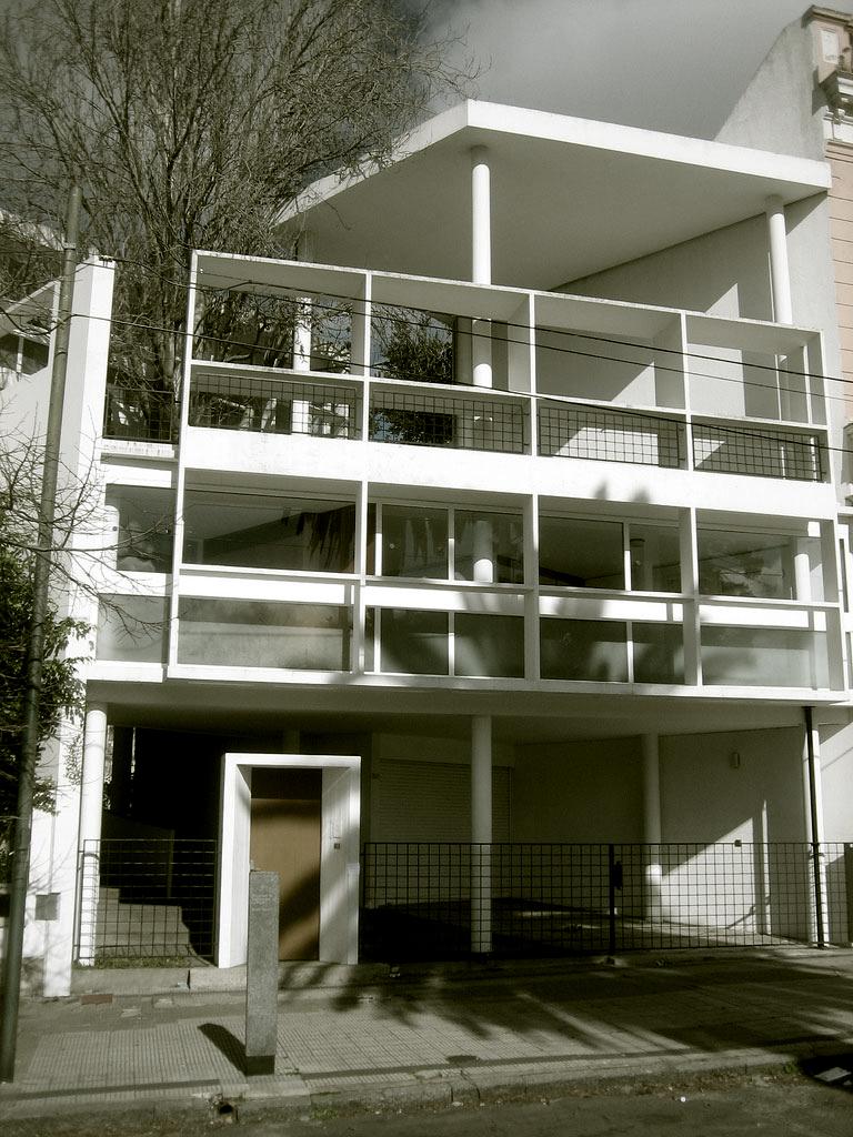 Cl ssicos da arquitetura casa curutchet le corbusier for Casa de arquitecto moderno