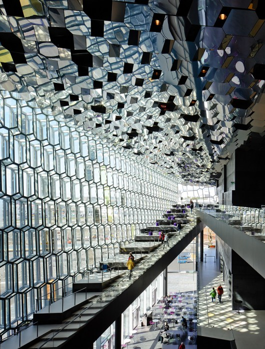 Harpa Concert Hall, Reykjavik, Islndia - Olafur Eliasson &amp; Henning Larsen Architects  Pedro Kok