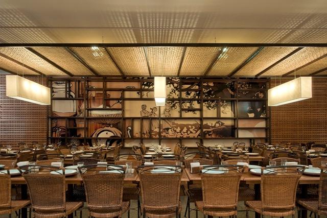 Restaurante Italiano Villa Giannina David Guerra ArchDaily Brasil