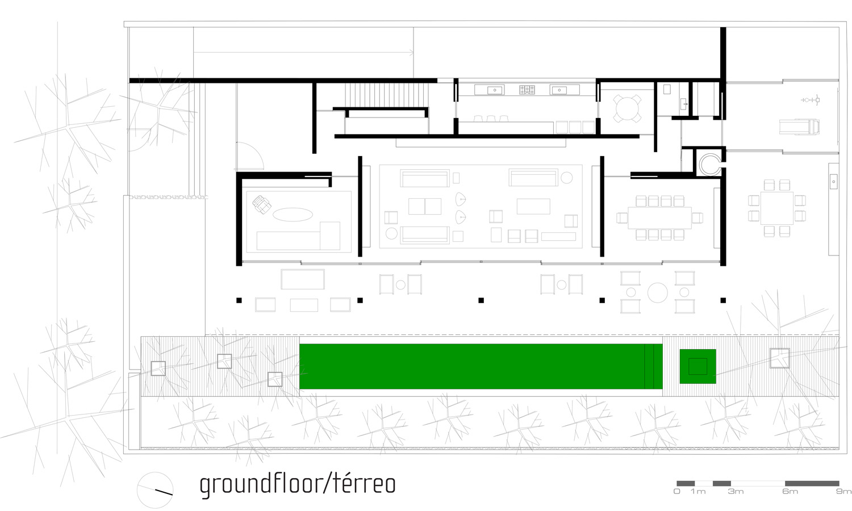 Galeria de casa de tijolinho studio mk27 marcio kogan 2 for Marcio kogan plans