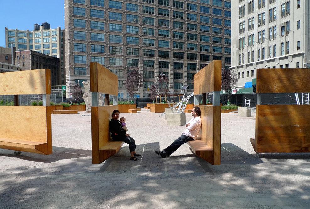 Em detalhe mobili rio urbano do projeto lentspace - Mobiliario de gimnasio ...