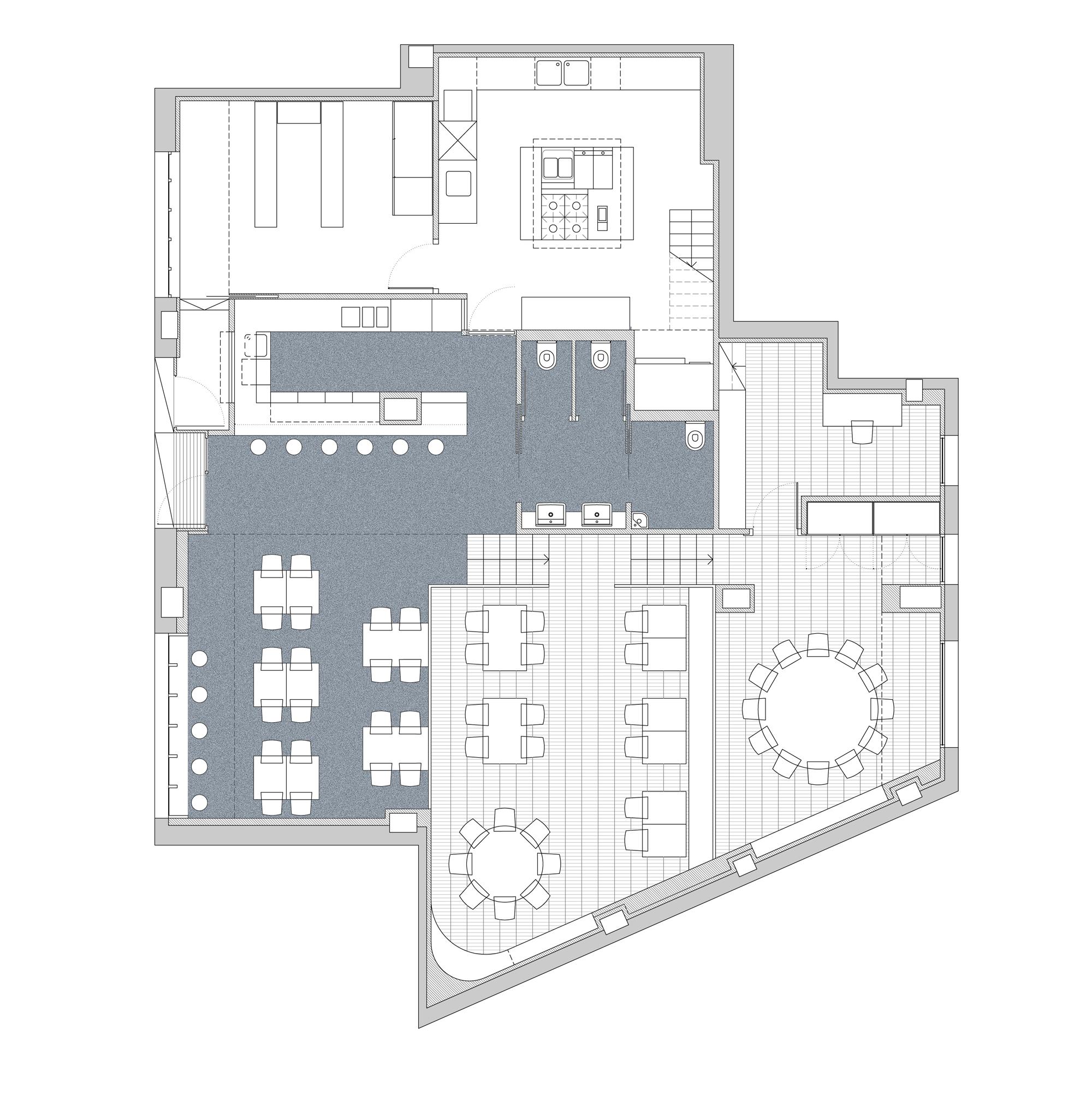 Galeria de Restaurante Gallastegi / pauzarq 16 #5C656F 2000 2039