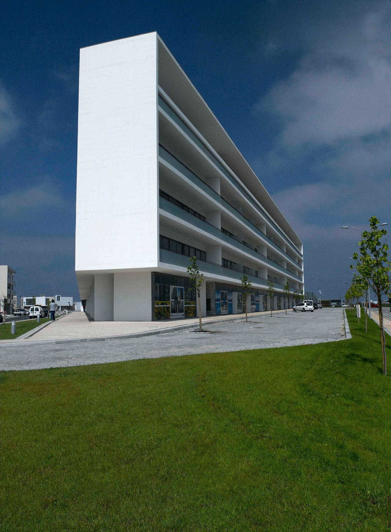 Edif cio de habita o da p voa de varzim topos atelier for Atelier arquitectura