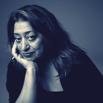 Zaha Hadid via AN Blog
