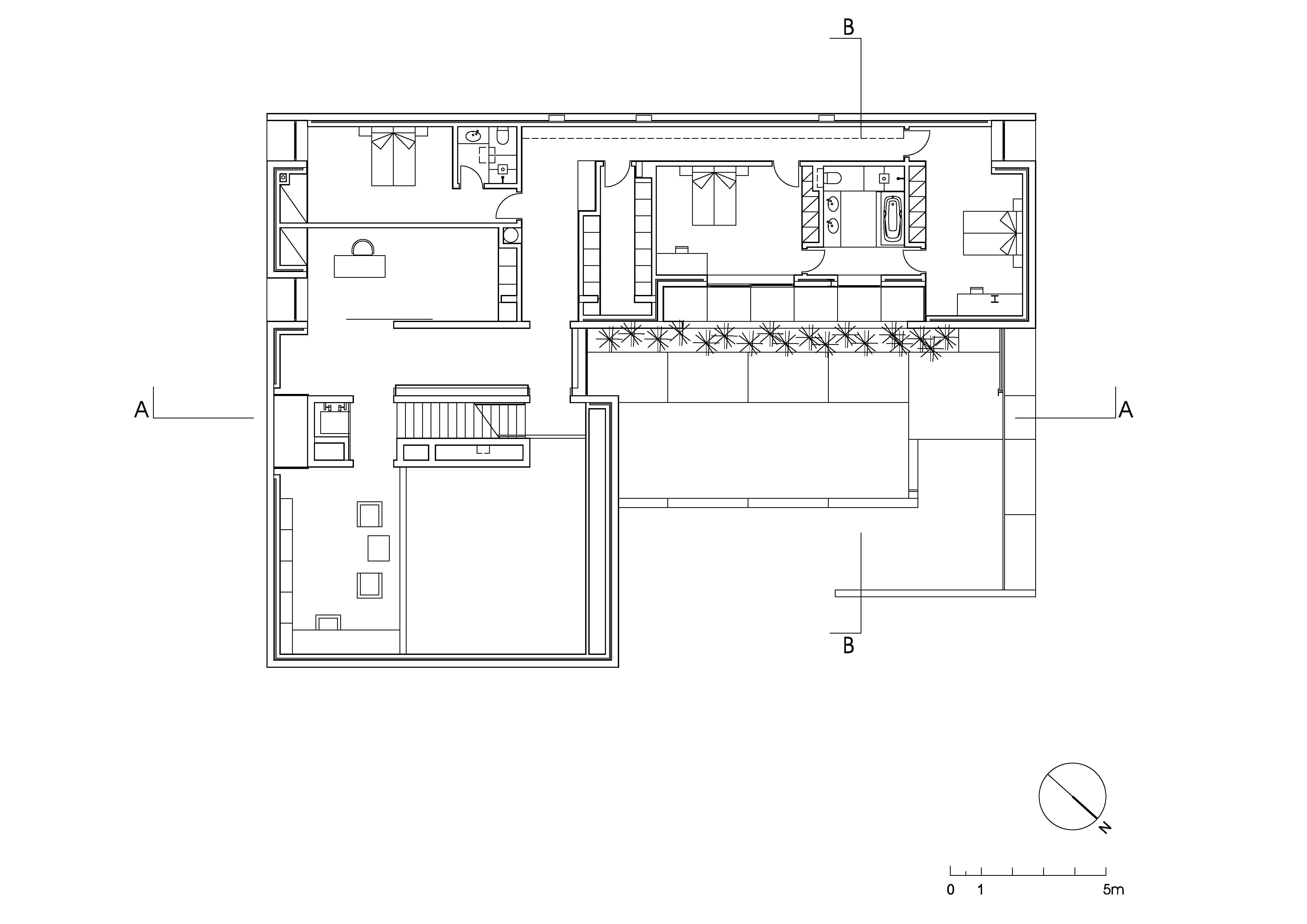 Pin plantas de casas com 1 quarto populares plantasdecasas for Atelier arquitectura