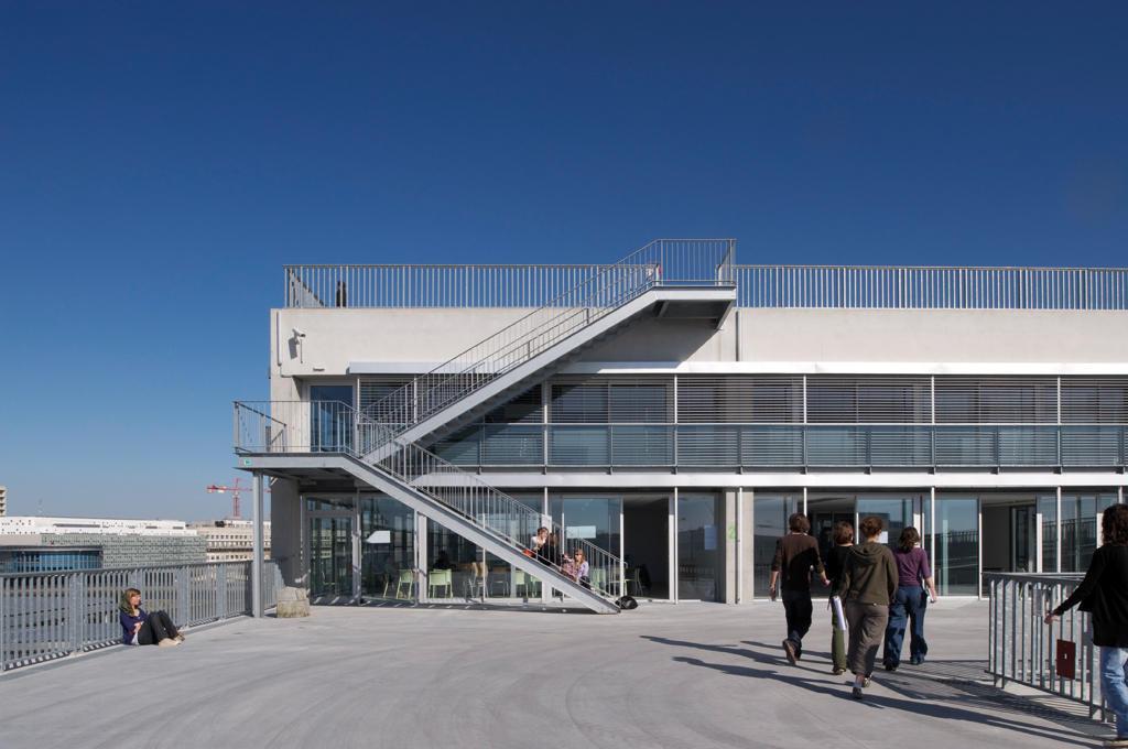 Galeria de escola de arquitetura de nantes lacaton for Architecture nantes