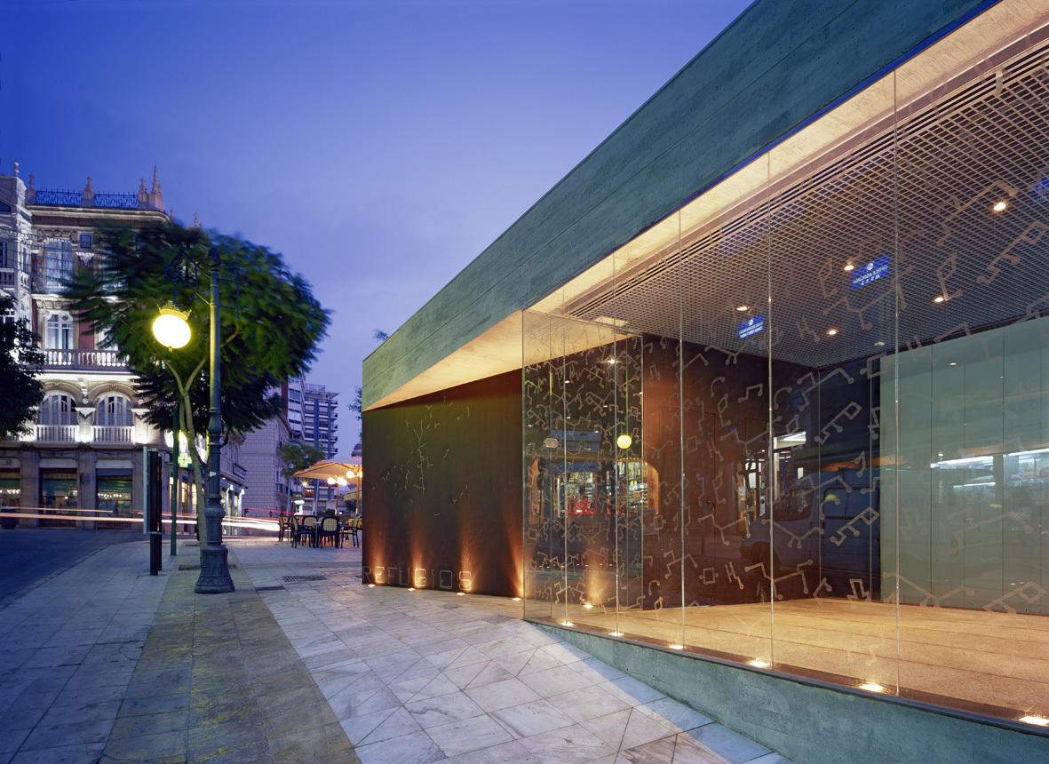 Reabilita o dos ref gios de almer a ferrer arquitectos - Arquitectos almeria ...