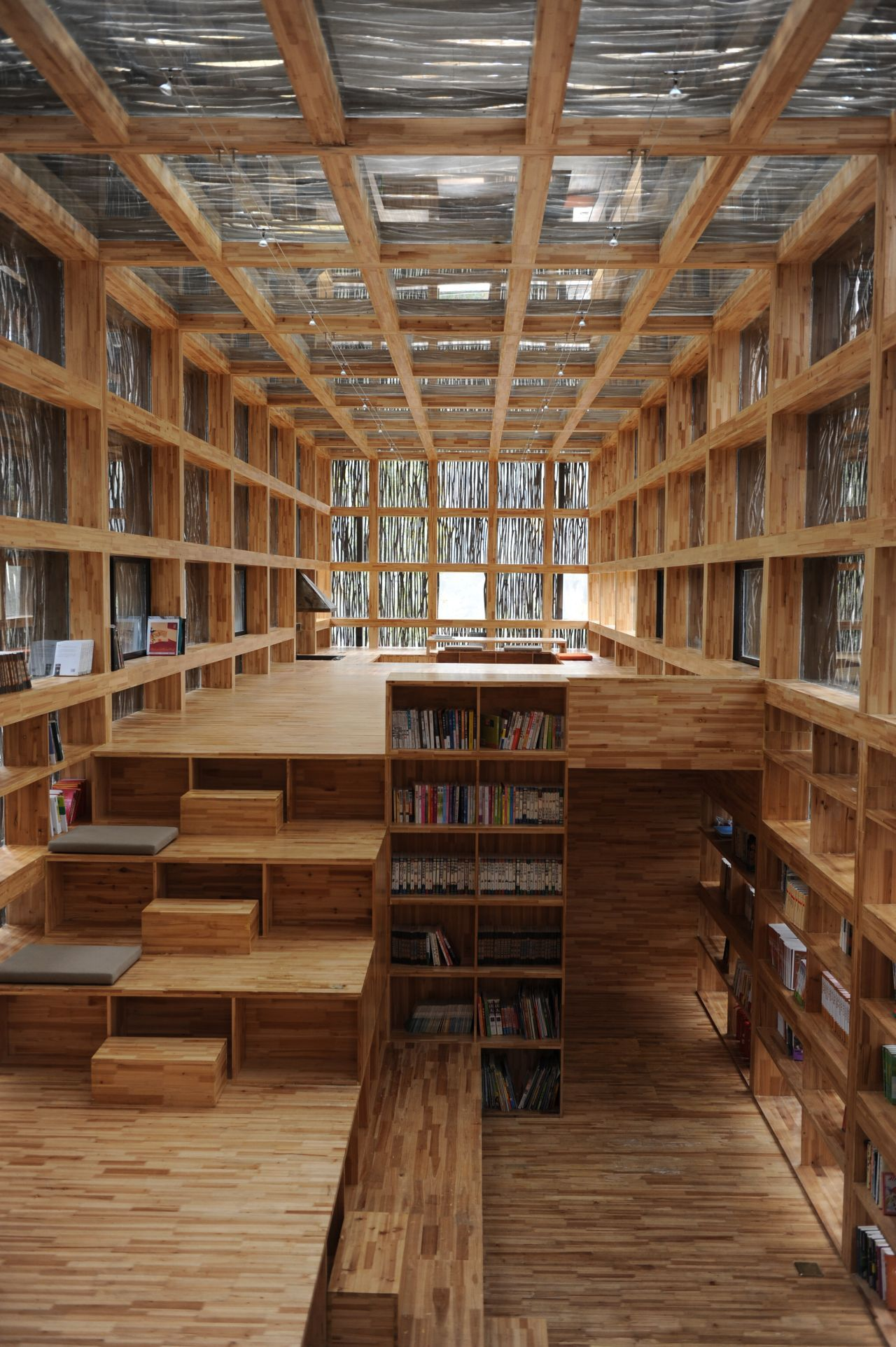 Biblioteca LiYuan / Li Xiaodong Atelier , © Li Xiaodong