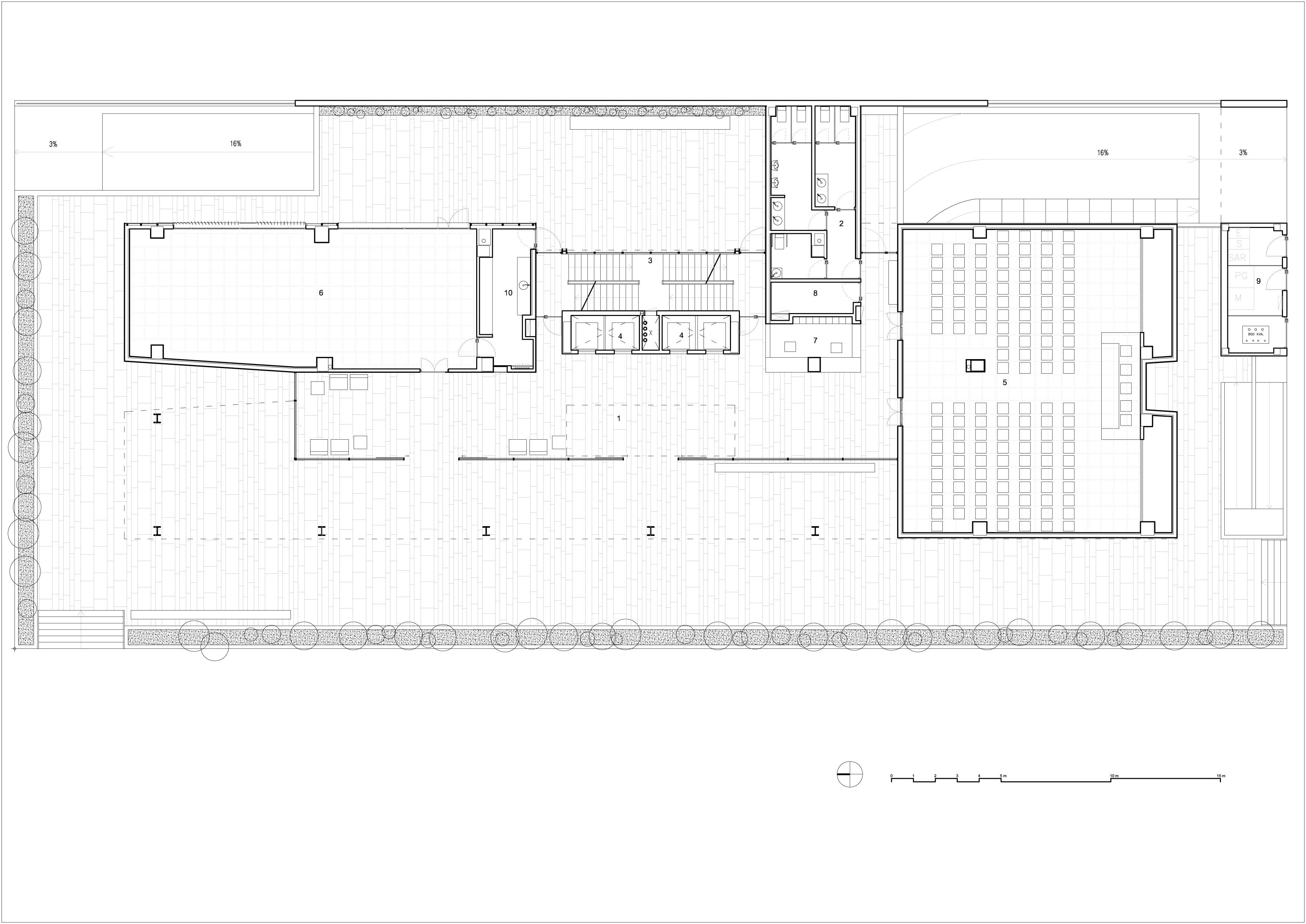 Galeria de centro de incubadoras de empresas trianera de for Empresas de arquitectura