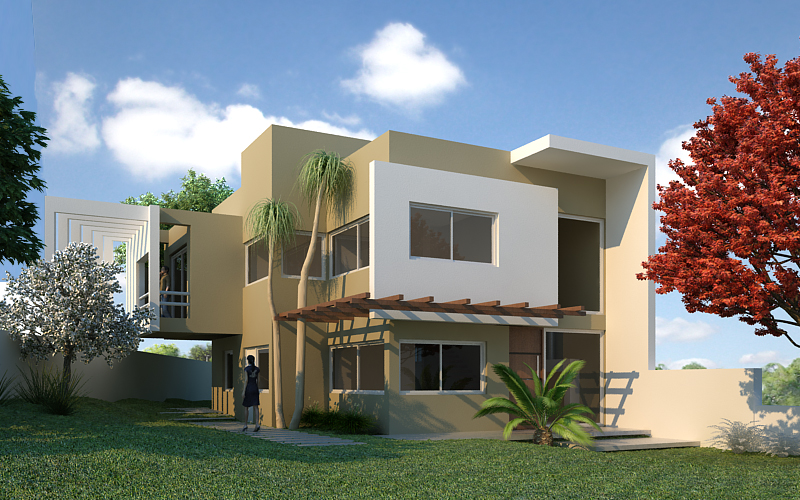 Galeria de casa zimmermann base2 arquitetura 3 for Render casa minimalista