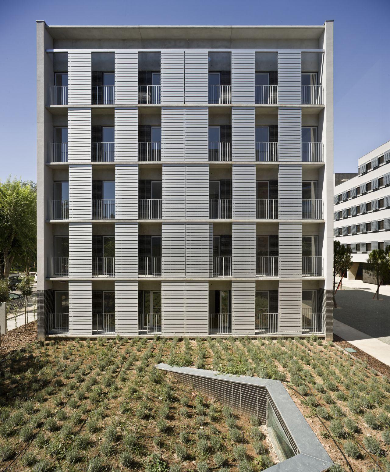 Galeria de conjunto habitacional em albacete burgos garrido arquitectos 6 - Arquitectos albacete ...