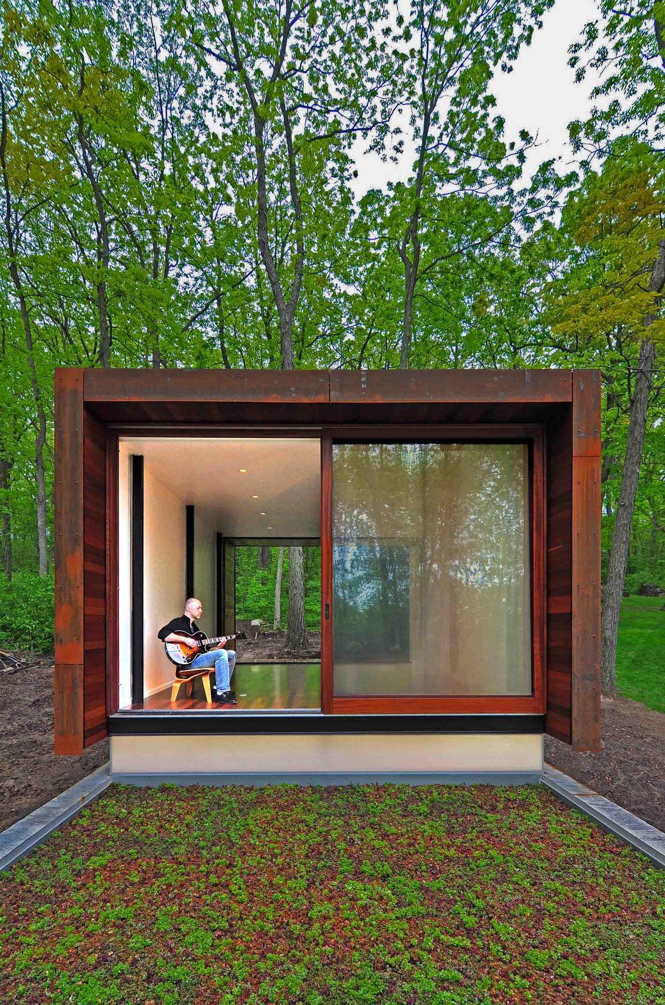 Galeria de Estúdio para um compositor / Johnsen Schmaling Architects - 12