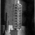 St. Marks's in-the-Bowerie-  modelo em exposição no Instituto de Arte de Chicago. 1930.