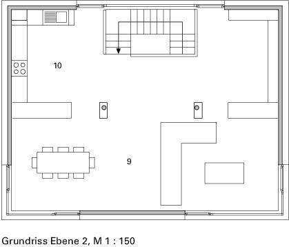Galeria de reflecting cube helwig haus raum planungs for Wohnungseinrichtung planen