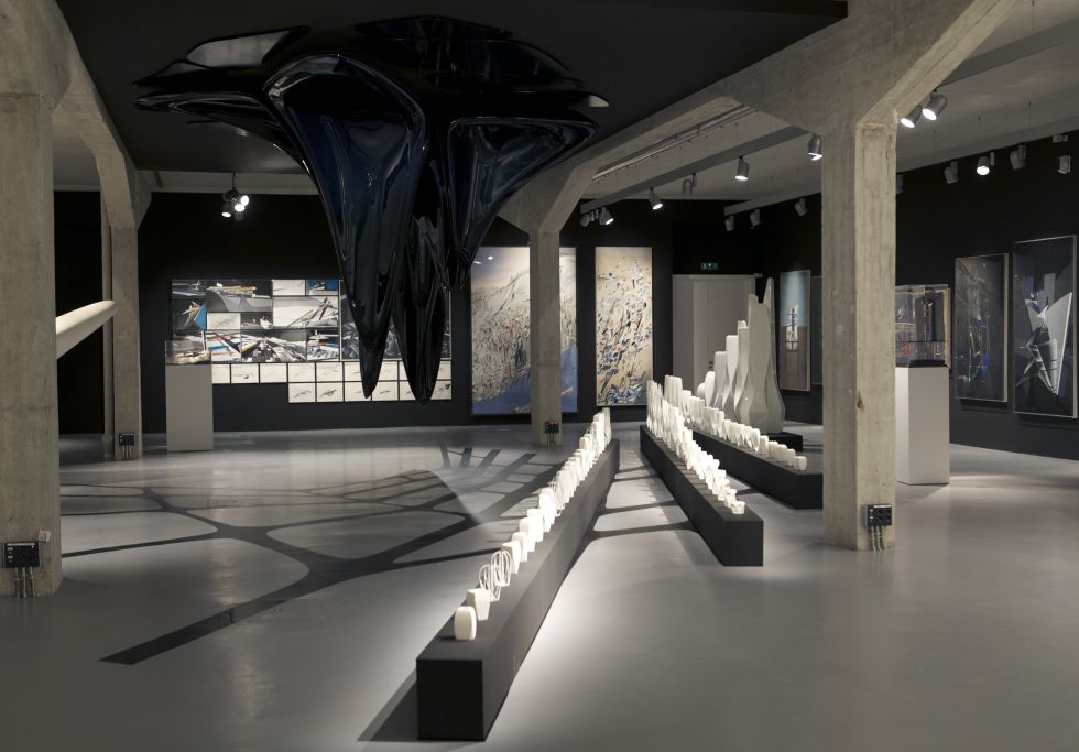 Galeria de exposi o de pinturas esculturas e desenhos de - Arquitectos famosos actuales ...