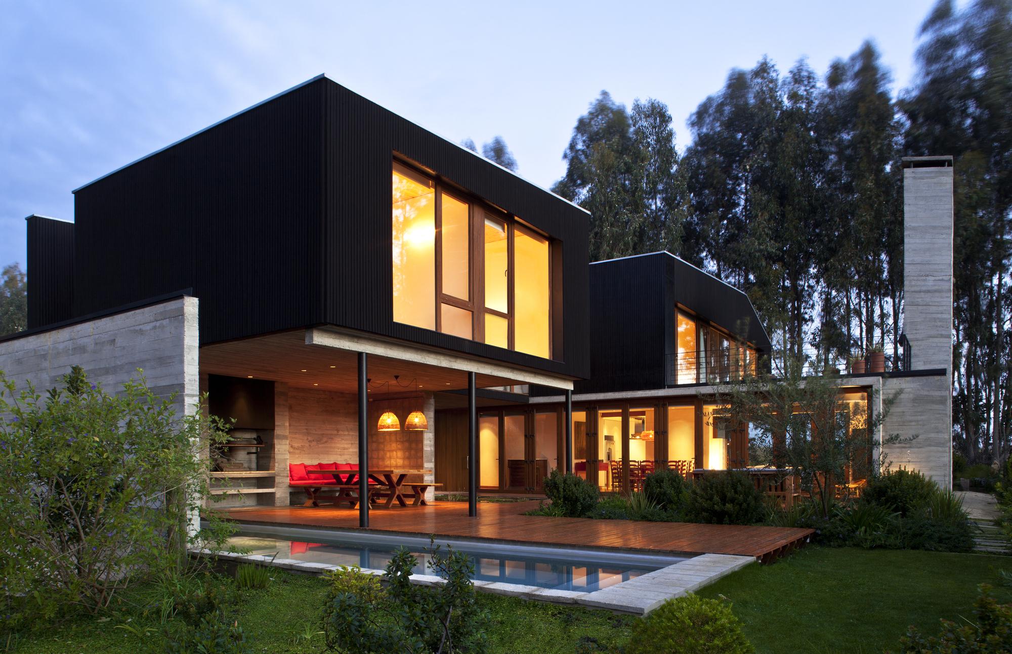 Стильный дом своими руками фото