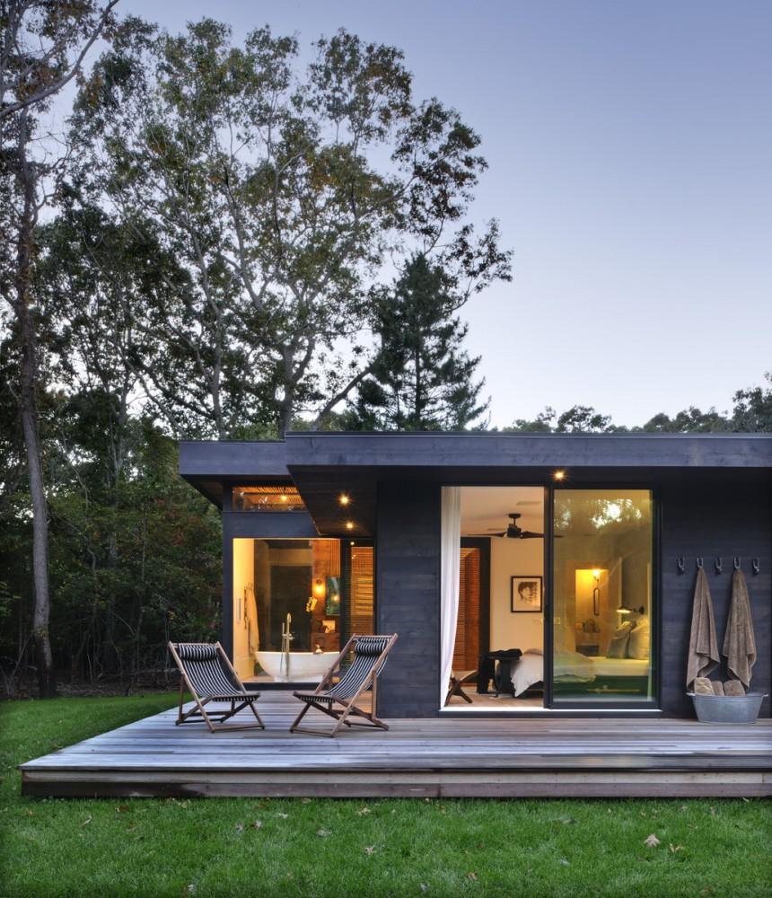decordemon: A contemporary weekend retreat Robins Way House, New York