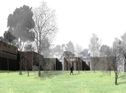 Reabilita o e amplia o da embaixada do brasil no chile - Benjamin cano arquitecto ...