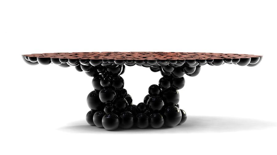 mesas newton boca do lobo archdaily brasil. Black Bedroom Furniture Sets. Home Design Ideas