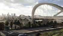 © HNTB proposta vencedora via Sixth Street Viaduct Replacement Project