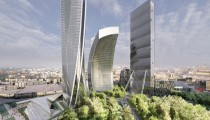 © Zaha Hadid Architects, Cortesia de CityLife